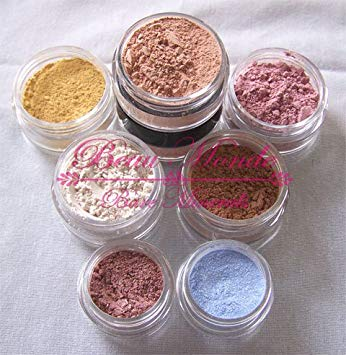 Beau Monde Minerals 9 Piece Sample Size Set Customizable